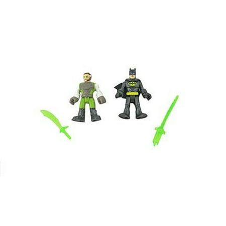Batman Sword (Imaginext DC Super Friends Batman Ooze Pit - Replacement Batman, Ra's al Ghul Figures, and Swords )