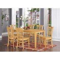 7 Piece Dining Room Set- Dinette Table and 6 Kitchen Chairs