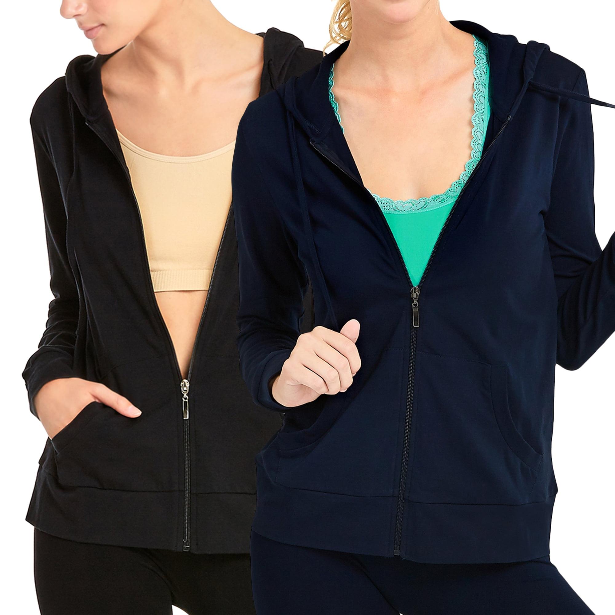 Ladies Womens Navy Soft Velvet Sweatshirt Warm Comfy Longsleeve Jumper.Size:8-18