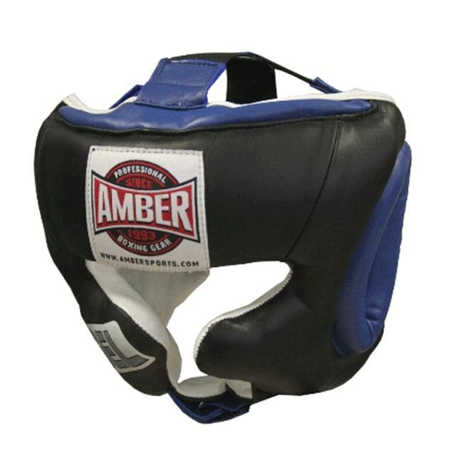 Amber Fight Gear Gel Traditional Training Headgear XL