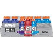 Gatorade Thirst Quencher Sports Drink Variety Pack, 12 fl oz, 18 count
