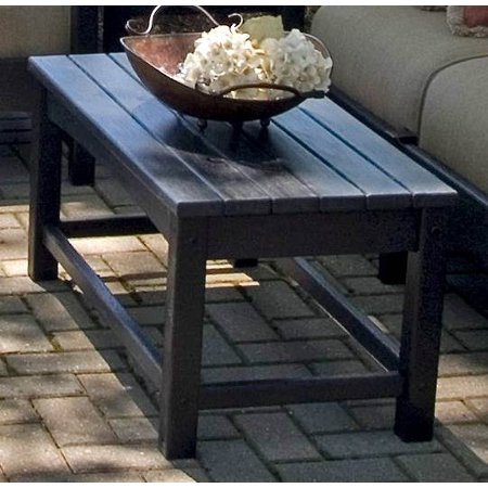Eco Friendly Coffee Table In Black