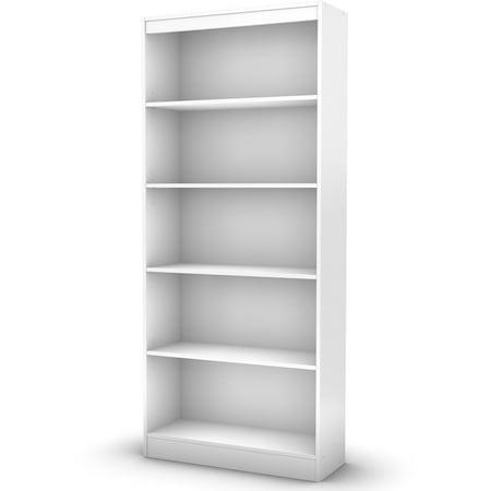 South S Smart Basics 5 Shelf Bookcase Multiple Finishes