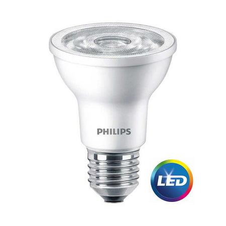 Philips LED Dimmable Flood Light Bulb, PAR20, Soft White, 50 WE (Philips Par20 Led)