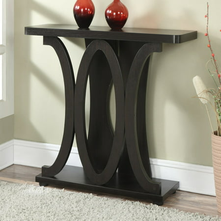 Newport Console - Convenience Concepts Newport Hailey Console Table, Espresso