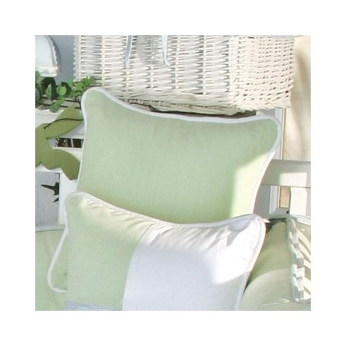 Brandee Danielle One Little Froggie Green Decorator Throw Pillow