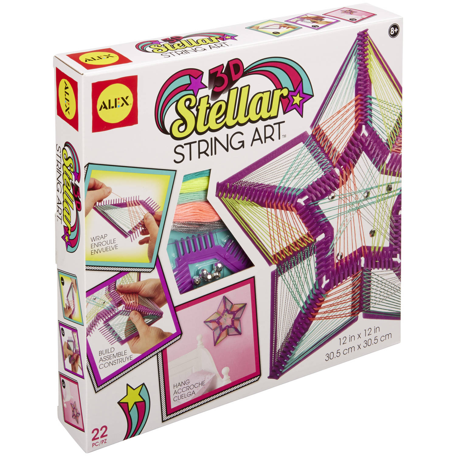ALEX Toys Craft 3D Stellar String Art