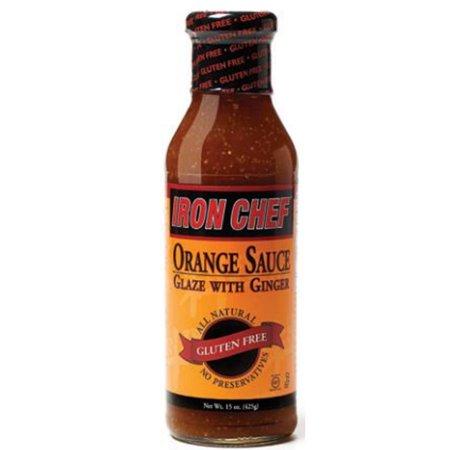 (Iron Chef Orange Sauce With Ginger 15 oz Bottle)