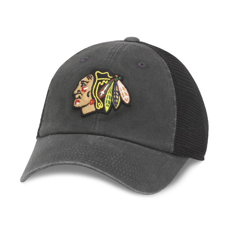 Chicago Blackhawks NHL Raglan Bones Cap - image 2 de 2
