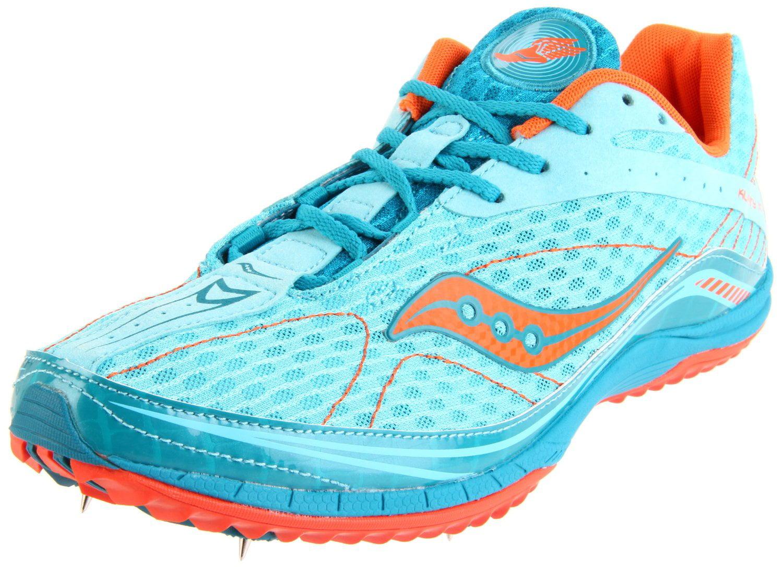 Saucony Men's Kilkenny XC4 Spike Running Shoe Blue Orange