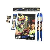 Stationery Set - Toy Story - Black - 6pc Favor Set