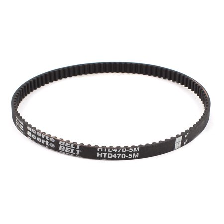 Unique Bargains HTD470-5M 10mm Width 5mm Pitch 94T Synchronous Timing Belt for CNC (Best Cnc Machines For Home Use)