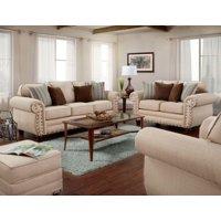 American Furniture Classics Model B9900-ABK Abington Sand 4-Piece Set
