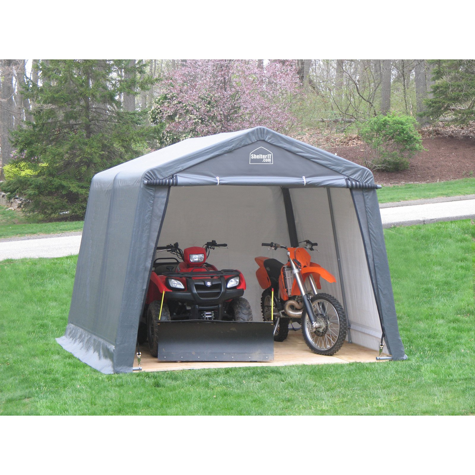 New England Outdoor Instant Garage  sc 1 st  Walmart & New England Outdoor Instant Garage - Walmart.com