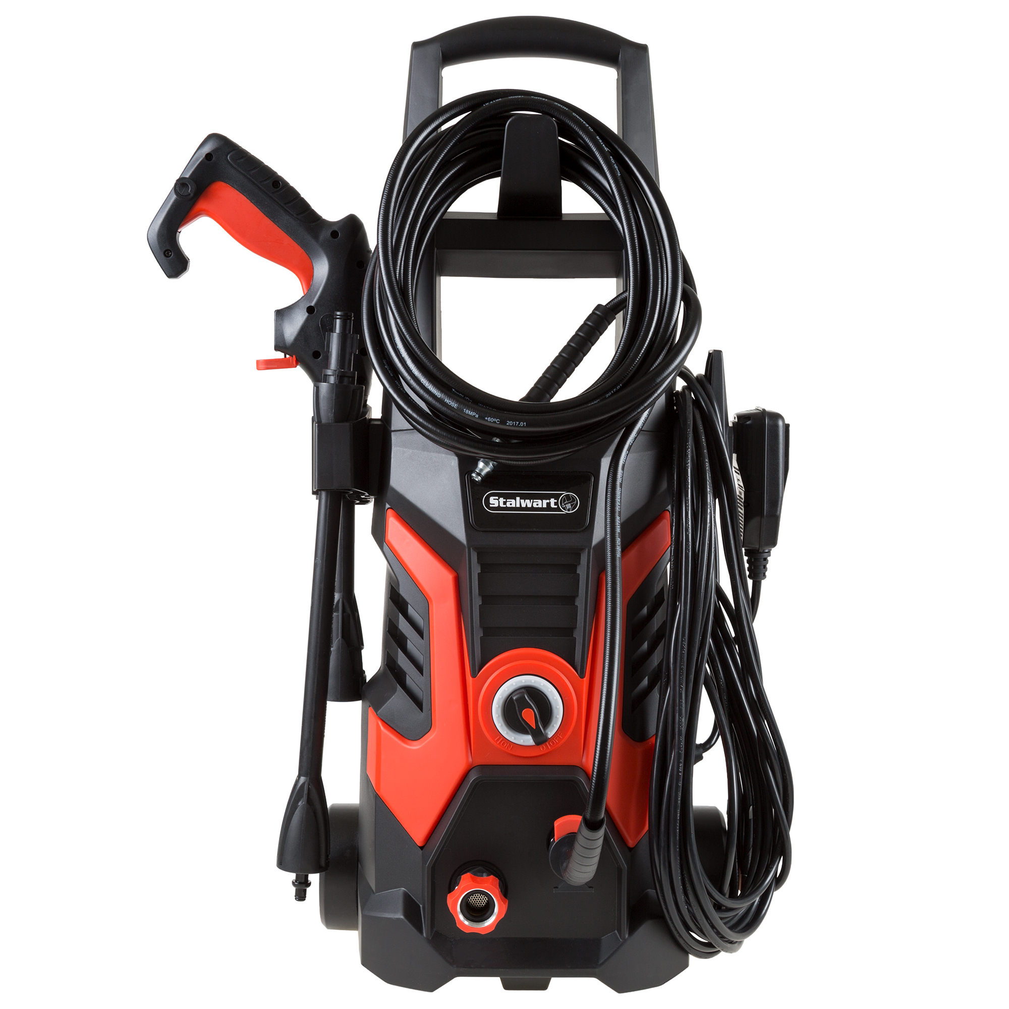 Stalwart 1500 - 2000 PSI, 1.35 - 5GPM Electric Pressure Washer (Power Washer For Cleaning Driveways, Patios, Decks, Cars and More)