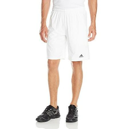 ... adidas Performance Men's Tennis Sequencials Essex Shorts, White/Black,  Large