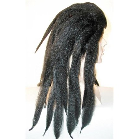 Tarzan Dreadlock Black Wig Costume - Tarzan Halloween