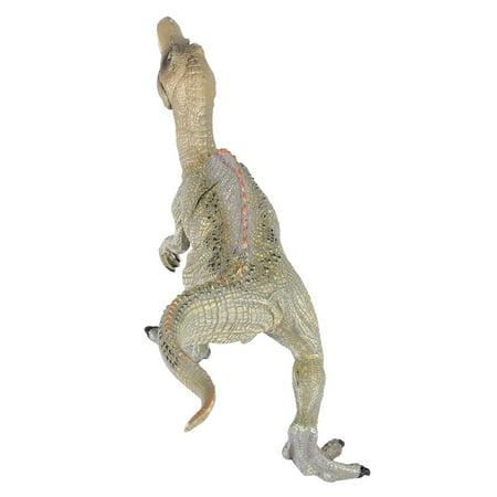 Qiilu Simulation Spinosaurus Modèle Dinosaure Jouet En Plastique Bureau À La Maison Bureau Décor Enfants Cadeau, Modèle De Dinosaure, En Plastique Modèle De Dinosaure - image 11 de 11