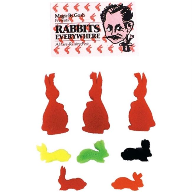 Costumes For All Occasions LA199 Rabbits Rabbits Rabbits