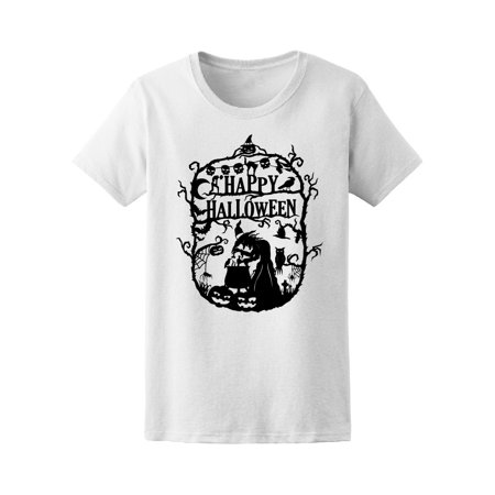 Halloween Witch Cooking Potion Tee Women's -Image by Shutterstock - Witch Potion Ingredients Halloween