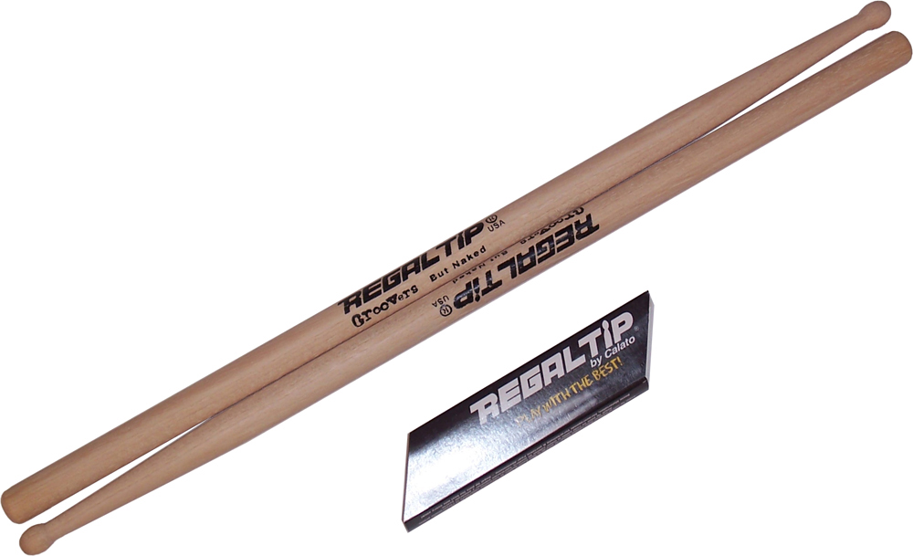 Regal Tip 205GR Performer Series Hickory Wood 5A Drum Set Kit Drumstick Pair by Regal Tip