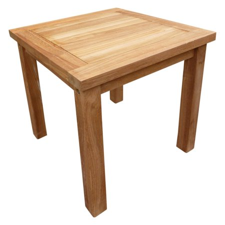 Seven Seas Teak Patio End Table (Best Teak Furniture Manufacturer)