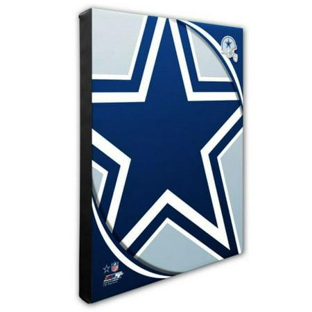 Nfl Hand Signed 16x20 Photograph - Photo File Dallas Cowboys Team Logo Canvas Print Picture Artwork 16x20 NFL