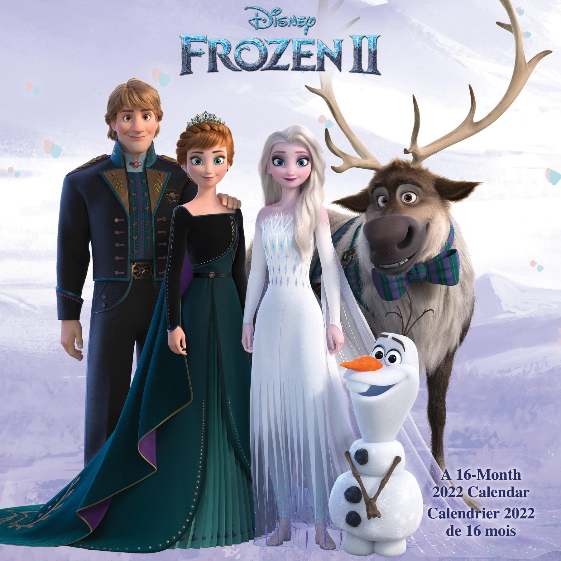 Calendrier Ultra Trail 2022 France 2022 Disney Frozen (Bilingual French) Wall Calendar   Walmart.