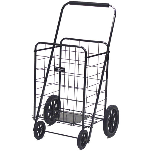 Easy Wheels Super Shopping Cart, Black, 1ct