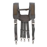 Estwing 94758 Cooling Mesh Padded Tool Belt Suspenders