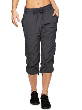 RBX Active Women's Lightweight Body Skimming Drawstring Cropped Pant