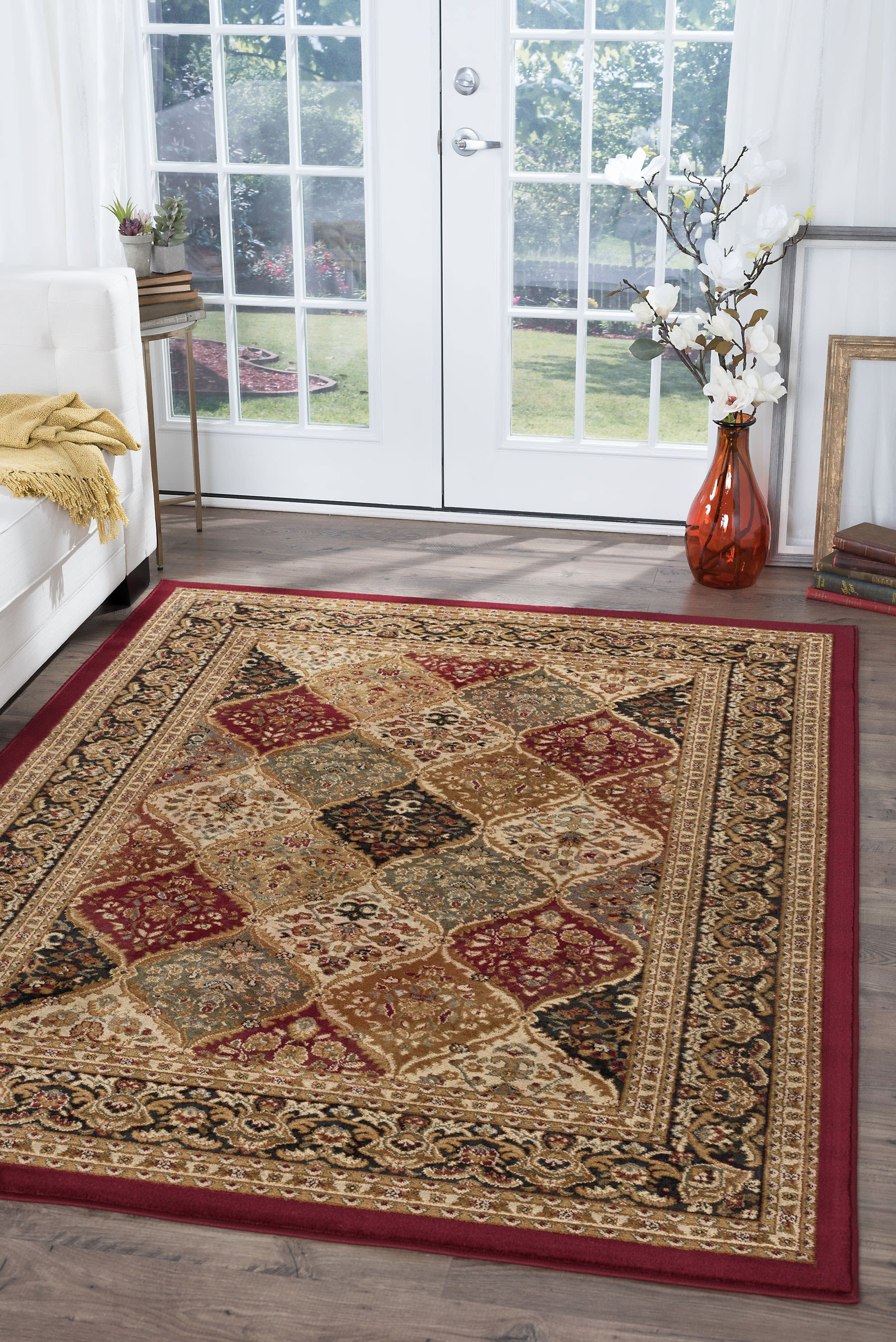 Bliss Rugs Providence Traditional Area Rug Walmart Com