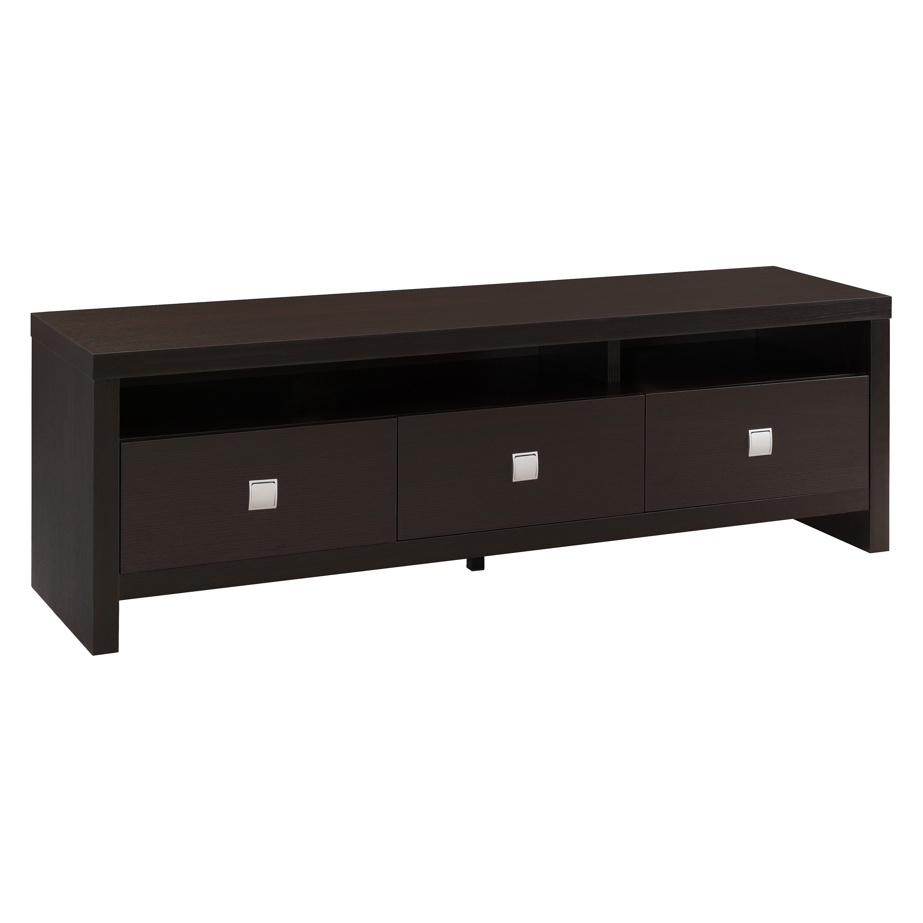 Furniture of America 3 Drawer TV Stand Walmart