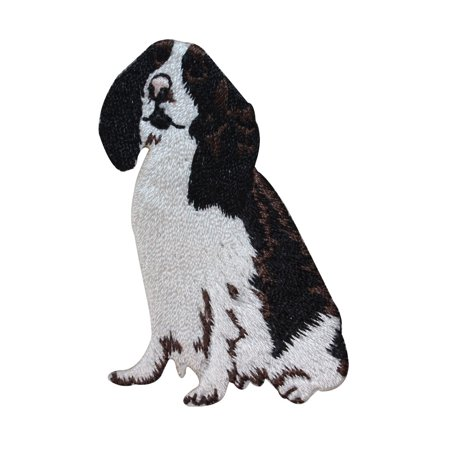 ID 2792 Cocker Spaniel Dog Patch Puppy Breed Pet Embroidered Iron On (Spaniel Needlepoint)