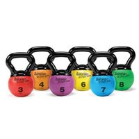 AGM Group 35851 Elite Mini Kettlebell Medicine Ball - Orange