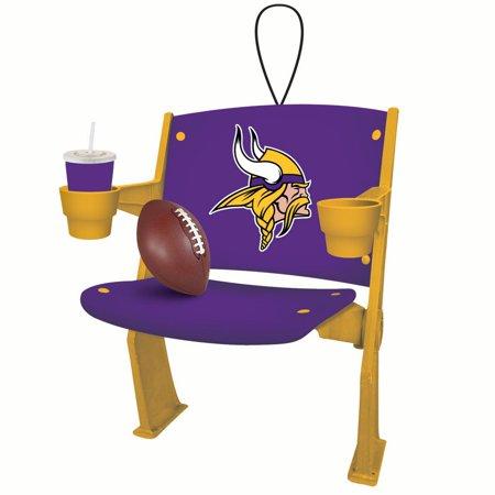 Minnesota Vikings Football Stadium Chair Christmas Ornament for $<!---->