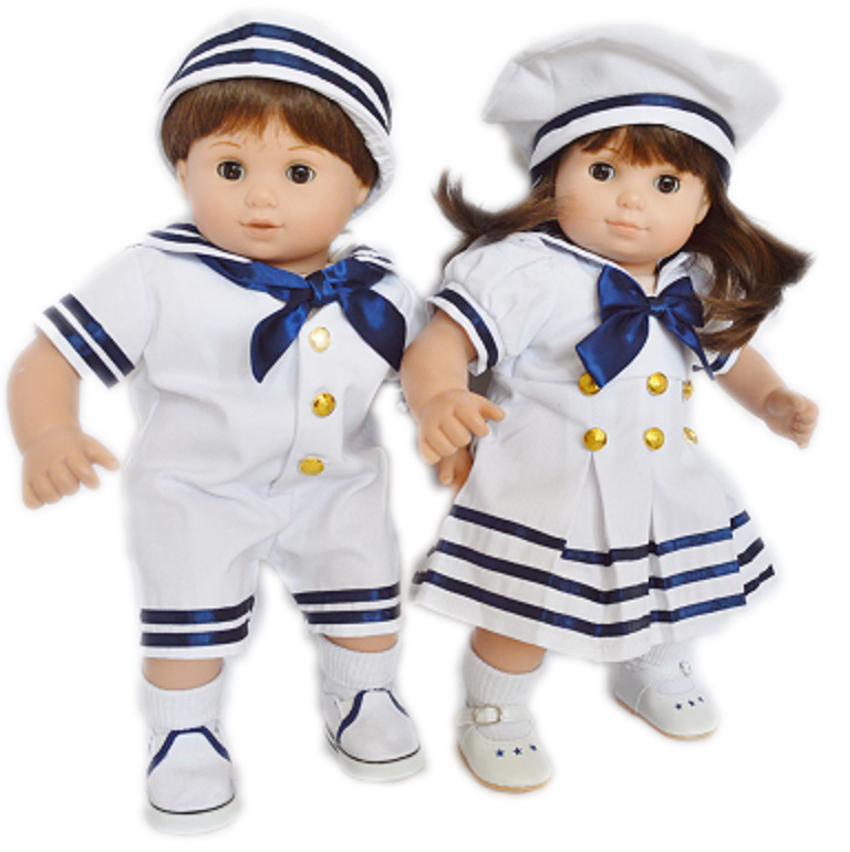 My Brittany's Sailor Outfits for American Girl Dolls Bitt...