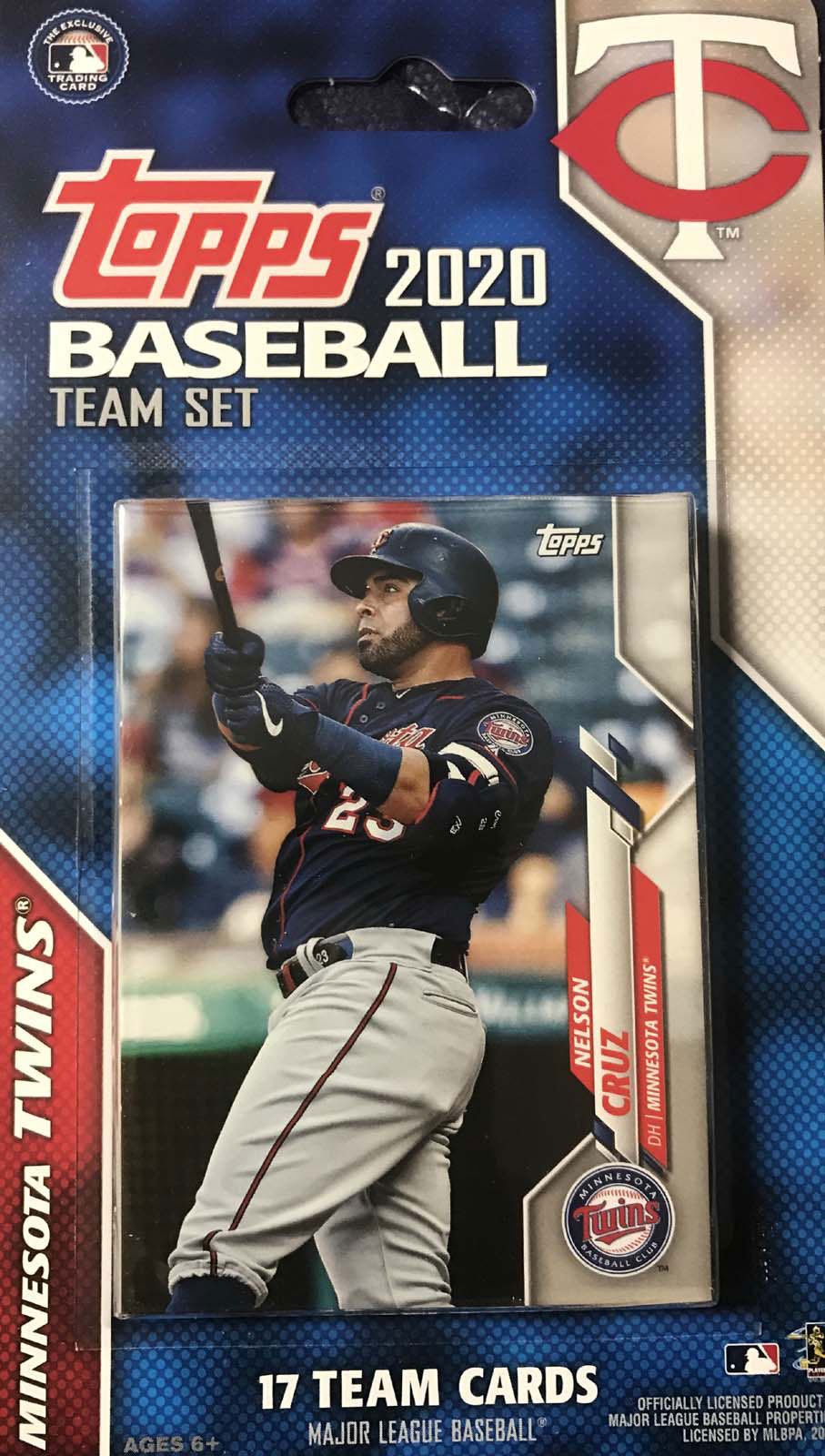 Minnesota Twins 2020 Topps Factory Sealed Special Edition 17 Card Team Set with Jose Berrios and Nelson Cruz Plus