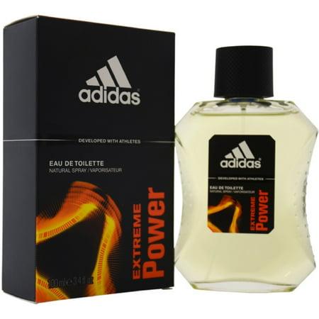 Adidas Mens Edt Spray - 6 Pack - Extreme Power By Adidas Eau de Toilette Spray 3.4 oz