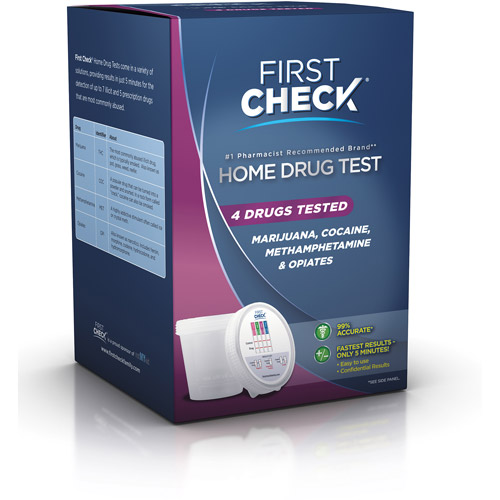 First Check Home Drug Test  4 Drugs Tested