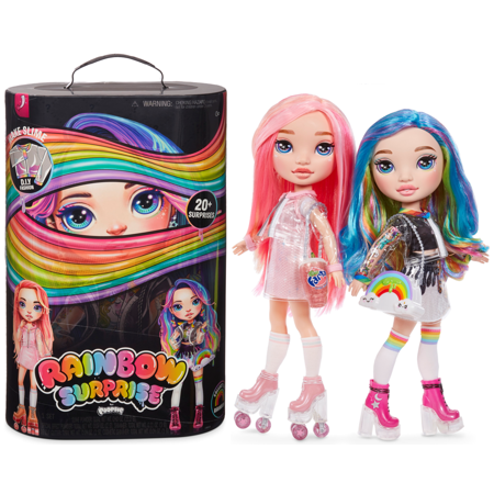 "Rainbow Surprise by Poopsie: 14"" Doll with 20+ Slime & Fashion Surprises, Rainbow Dream or Pixie Rose"