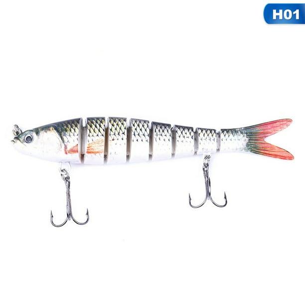 Multi Jointed Fishing Lures Swimbait Sinking Wobblers Hard Bait Crankbait