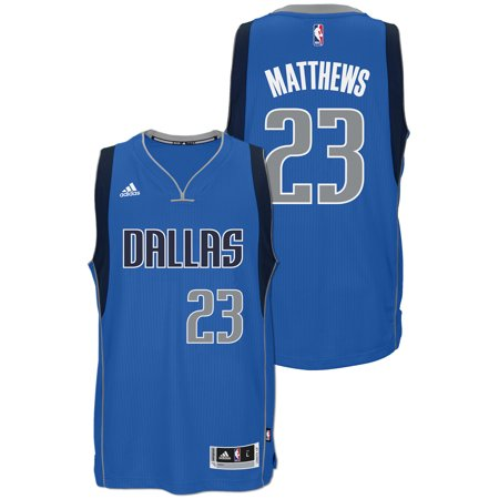Wesley Matthews Dallas Mavericks Adidas Road Swingman Jersey (Royal) by