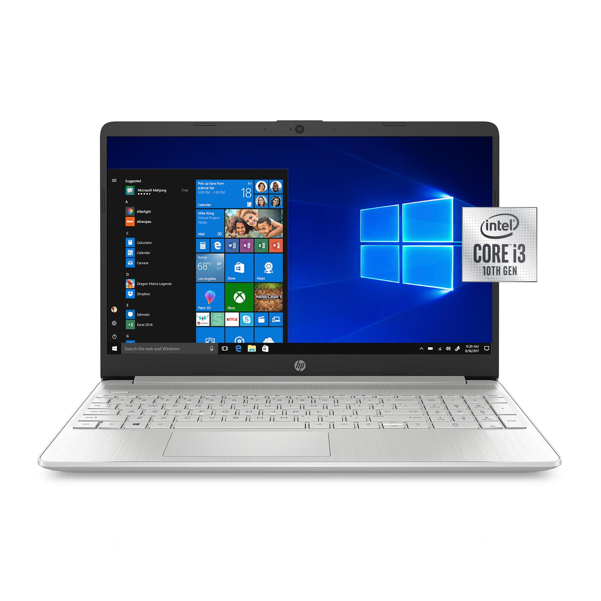 "HP 15.6"" i3 8GB/256GB Laptop-Silver"