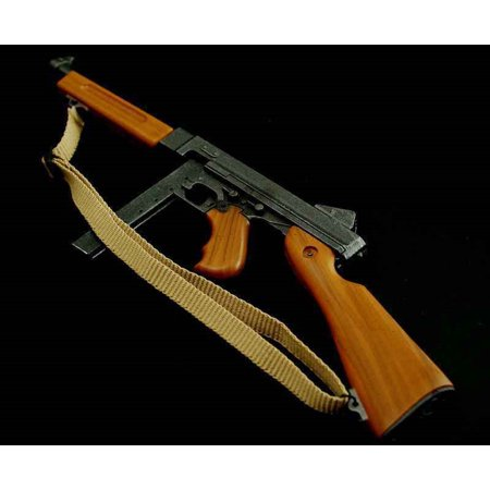Dragon Toys 1/6 Weapon Model WWII US Army Thompson Submachine Gun M1928A2 (Soviet Army Wwii)