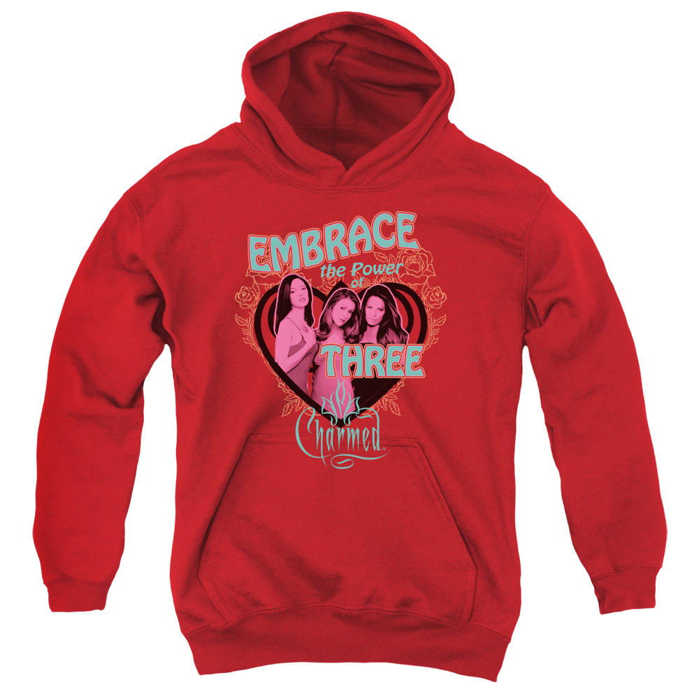 Charmed Embrace The Power Big Boys Pullover Hoodie