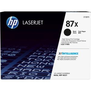 HP 87X Original Toner Cartridge - Black - Laser - High Yield