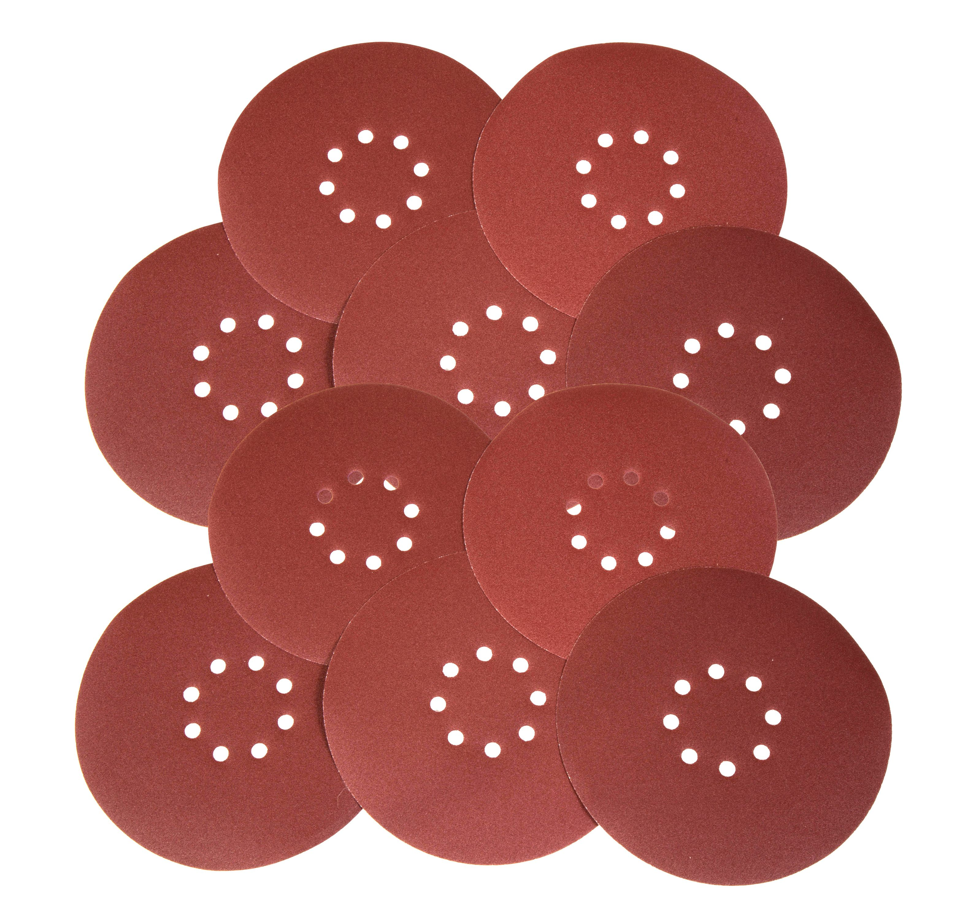 WEN Drywall Sander 150-Grit Hook and Loop 9-Inch Sandpaper, 10-Pack