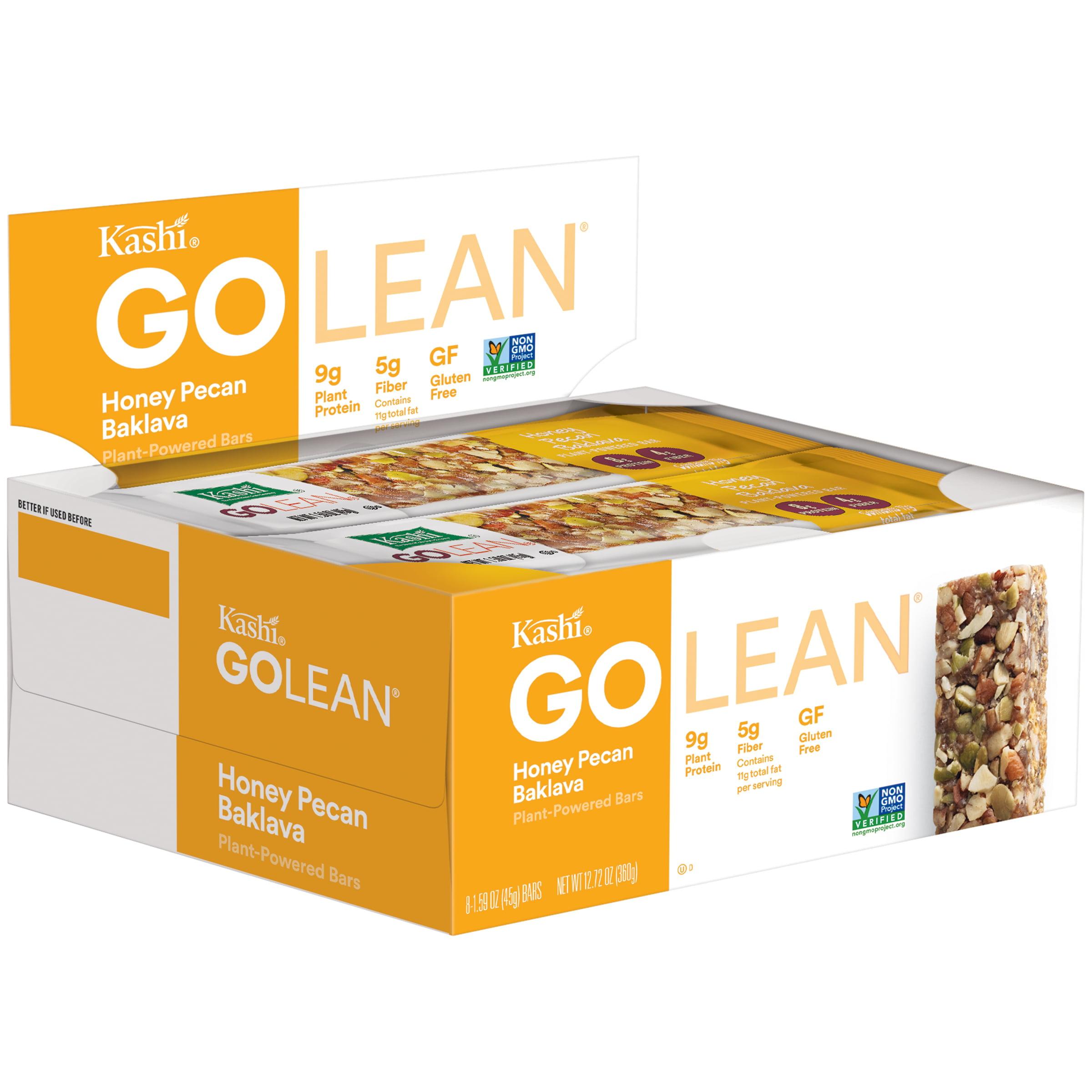 Kashi Go Lean Honey Pecan Baklava Plant-Powered Bars 8-1.59 oz. Box by Kashi Sales LLC.
