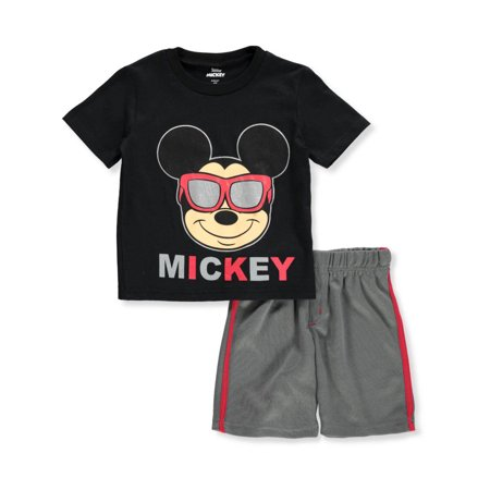 Disney Mickey Mouse Boys' 2-Piece Shorts Set Outfit](Disney Boys Clothes)